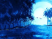 Hallmark Art - The Blue Lagoon by Krista May