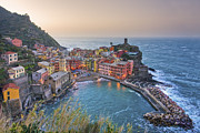 Cinque Terra Prints - The Cinque Terre - Manarola Afternoon Print by Rob Greebon