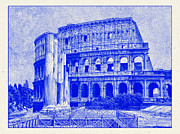 The Colosseum Print by Nigel Fletcher-Jones