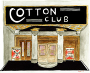 Cotton Club Framed Prints - The Cotton Club Framed Print by Lynn Lieberman