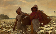Winslow Homer - The Cotton Pickers by Winslow Homer