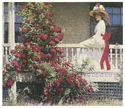 The Crimson Rambler Print by Philip Leslie Hale