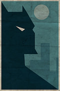 Night Digital Art Prints - The Dark Knight Print by Michael Myers