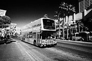 Deuce Prints - the deuce double deck bus on the Las Vegas strip Nevada USA Print by Joe Fox