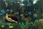 Henri Rousseau - The Dream by Henri Rousseau