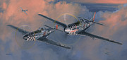 Group Paintings - The Duxford Boys by Wade Meyers