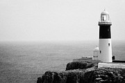 Irish Folklore Prints - The East Light lighthouse Altacarry Altacorry head Rathlin Island ireland Print by Joe Fox