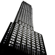 Nyc Digital Art Posters - The Empire State Building Poster by Natasha Marco