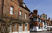 High Street Photos - The English Village of Dorchester On Thames by Robert Preston