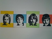 Fab Four  Art - The Fab Four by Mark Norman II