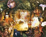 The Fairies Banquet Print by John Anster Fitzgerald