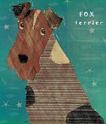 The Fox Terrier  Print by Bri Buckley