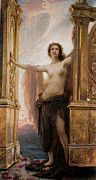 Nude Woman Digital Art - The Gates Of Dawn by Herbert James Draper