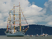 Tall Ships Prints - The Gloria Print by Joe Cashin