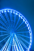 Seattle Waterfront Prints - The Great Wheel Print by Tanya Harrison