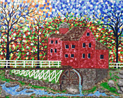 Stephanie Wingard - The Grist Mill In Autumn