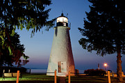 Concord Point Metal Prints - The Guiding Light Metal Print by Crystal Wightman