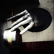 Nyc Digital Art Metal Prints - The Hand Metal Print by Natasha Marco