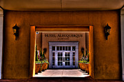 Entrances Prints - The Hotel Albuquerque Print by David Patterson