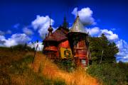 Junk Photo Metal Prints - The Junk Castle Metal Print by David Patterson