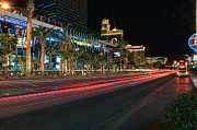 Las Vegas Prints - The Las Vegas Strip Print by Eddie Yerkish