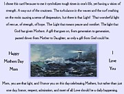 Print On Acrylic Prints - The Light of a Mothers Love Print by Lynne Wright