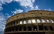 Big Blue Marble Photo Prints - The Majestic Coliseum - Rome Print by Luciano Mortula