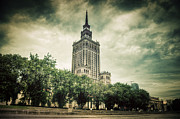 Polish Culture Framed Prints - The Palace of Culture and Science Framed Print by Michal Bednarek