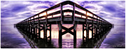 Reflections In Water Prints - The Pier Print by Olahs Photography