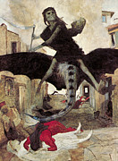 The Plague Print by Arnold Bocklin