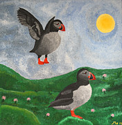 Monica Georg - The Puffins