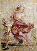 Famous Artists - The Rape of Europa by Peter Paul Rubens