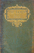 Book Cover Prints - The Raven by Edgar Allan Poe Book Cover Print by Philip Ralley