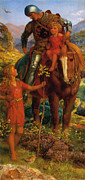 Little Boy Prints - The Rescue Print by Arthur Hughes