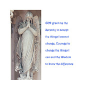 Aa Posters - The Serenity Prayer Poster by Philip Ralley
