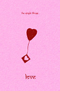 Valentines Digital Art Posters - The Simple Things Poster by Tim Gainey
