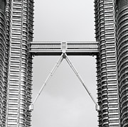 Brave New World Prints - The Skybridge  Print by Shaun Higson