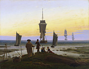 Stages Posters - The Stages of Life Poster by Caspar David Friedrich
