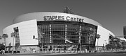 Los Angeles Clippers Prints - The Staples Center Print by Mountain Dreams