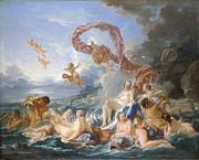 Famous Artists - The Triumph of Venus by Francois Boucher