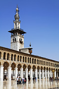 Great Mosque Prints - The Umayyad Mosque Damascus Syria Print by Robert Preston