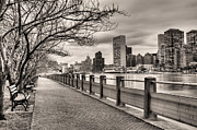 New York City Skyline Photo Framed Prints - The Walk Framed Print by JC Findley