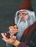 Wizard Prints - The Wizards Apprentice Print by J W Baker