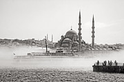 For Ninety One Days - The Yeni Mosque in Fog