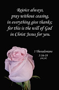 Inspirational  Designs - 1 Thessalonians 5 16 18