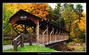 Rose Santuci-sofranko Posters - Thomas L Kelley Covered Bridge Poster by Rose Santuci-Sofranko