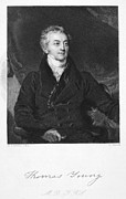 Autograph Framed Prints - Thomas Young (1773-1829) Framed Print by Granger