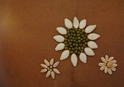 Local Food Art - Three Flowers by Jon Simmons