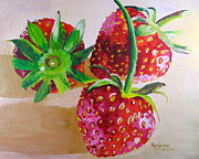 Pat Gerace - Three Strawberries