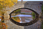 Fall River Scenes Prints - Through the Looking Glass Print by Joann Vitali